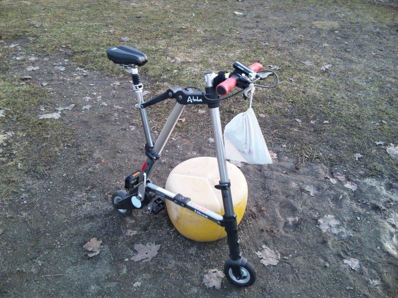 A-Bikeの試運転